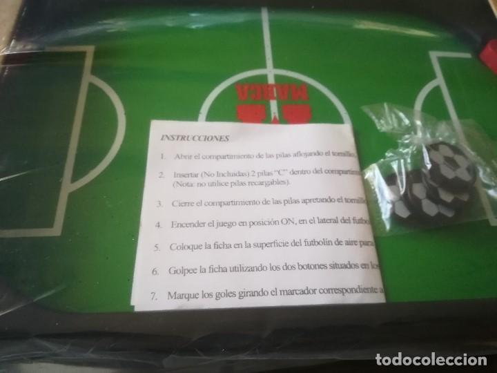 Juegos de mesa: JUEGO AIR FOOTBALL. NUEVO. EDITADO PARA MARCA. PRECINTADO - Foto 5 - 210184820