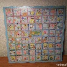 Jeux de table: TABLERO JUEGO DE LA OCA BOB ESPONJA SPONGEBOB 2009 VIACOM CLEMENTONI ESCALERA SERPIENTES DETRÁS. Lote 210203723