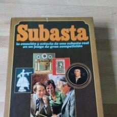 Jogos de mesa: JUEGO DE MESA SUBASTA, DE EDUCA. NUEVO SIN USAR. Lote 210301597