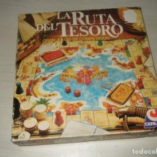 Juegos de mesa: JUEGO DE MESA LA RUTA DEL TESORO CEFA AÑOS 80 COMPLETO. Lote 210352991