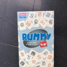 Juegos de mesa: JUEGO DE MESA RUMMY. Lote 210439722