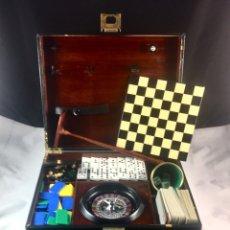 Juegos de mesa: CAJA CON JUEGOS DE MESA -(19547). Lote 210474818