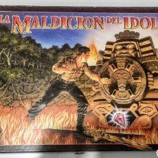 Jogos de mesa: JUEGO DE MESA LA MALDICION DEL IDOLO MB 1990. Lote 210541055