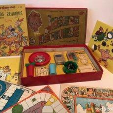 Juegos de mesa: ANTIGUA CAJA NUMERO 15 DE JUEGOS REUNIDOS GEYPER. Lote 210556452