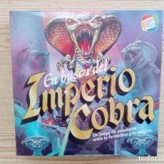 Juegos de mesa: JUEGO DE MESA - EN BUSCA DEL IMPERIO COBRA - CEFA. Lote 210564862