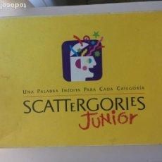 Juegos de mesa: SCATTERGORIES JUNIORJUEGO DE MESA KREATEN 1992 SCATERGORIES. Lote 210577238