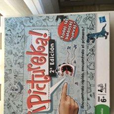 Juegos de mesa: PICTUREKA PIKTUREKA PICTURECA 2 EDICION HASBRO FAMILIA JUEGO DE MESA KREATEN. Lote 210579298