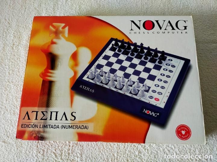 AJEDREZ ELECTRONICO: NOVAG CHESS COMPUTER - ATENAS (EDICIÓN LIMITADA, NUMERADA) - NOVAG (Juguetes - Juegos - Juegos de Mesa)