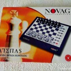 Juegos de mesa: AJEDREZ ELECTRONICO: NOVAG CHESS COMPUTER - ATENAS (EDICIÓN LIMITADA, NUMERADA) - NOVAG. Lote 210644848