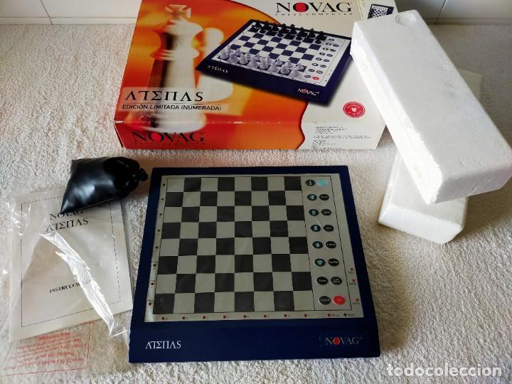Juegos de mesa: AJEDREZ ELECTRONICO: NOVAG CHESS COMPUTER - ATENAS (EDICIÓN LIMITADA, NUMERADA) - NOVAG - Foto 2 - 210644848