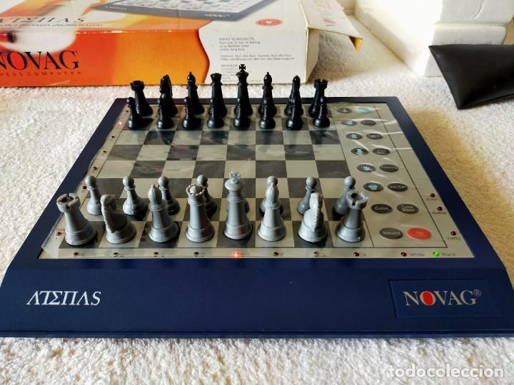 Juegos de mesa: AJEDREZ ELECTRONICO: NOVAG CHESS COMPUTER - ATENAS (EDICIÓN LIMITADA, NUMERADA) - NOVAG - Foto 3 - 210644848