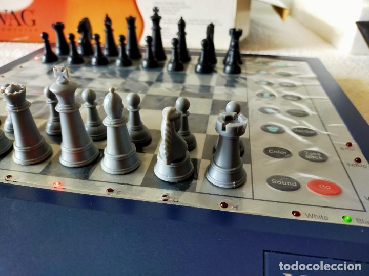 Juegos de mesa: AJEDREZ ELECTRONICO: NOVAG CHESS COMPUTER - ATENAS (EDICIÓN LIMITADA, NUMERADA) - NOVAG - Foto 5 - 210644848