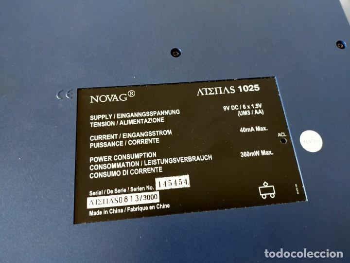 Juegos de mesa: AJEDREZ ELECTRONICO: NOVAG CHESS COMPUTER - ATENAS (EDICIÓN LIMITADA, NUMERADA) - NOVAG - Foto 6 - 210644848