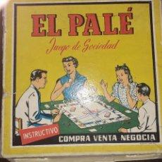 Juegos de mesa: EL PALÉ. JUEGO AÑOS 60. Lote 210679682