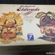 Juegos de mesa: JUEGOS FOURNIER - EN BUSCA DE EL DORADO JUEGOS (JUEGO DE ESTRATEGIA) - COMPLETO 1992. Lote 210704829