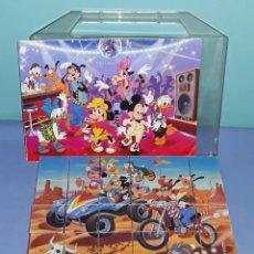Juegos de mesa: PUZZLE DE CUBOS DE WALT DISNEY DE CLEMENTONI COMPLETO ORIGINAL. Lote 210776891