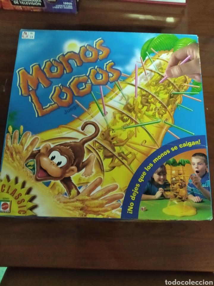 MONOS LOCOS DE MATTEL (Juguetes - Juegos - Juegos de Mesa)