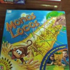 Juegos de mesa: MONOS LOCOS DE MATTEL. Lote 210844522