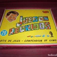 Juegos de mesa: MAGNIFICO JUEGOS REUNIDOS NUMERO 20 DE GEYPER DEL 1964 COMPLETO. Lote 210976987
