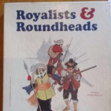 Juegos de mesa: JUEGO DE LA GUERRA CIVIL INGLESA ROYALISTS AND ROUNDHEADS. COMPLETO. Lote 211259281