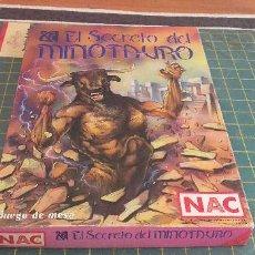 Juegos de mesa: EL SECRETO DEL MINOTAURO. Lote 211388720