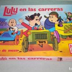 Juegos de mesa: LULÚ EN LAS CARRERAS JUEGO DE NAC. Lote 211691911