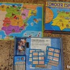 Juegos de mesa: JUEGO DE MESA CONOCER ESPAÑA DE EDUCA - COMPLETO. Lote 211701229