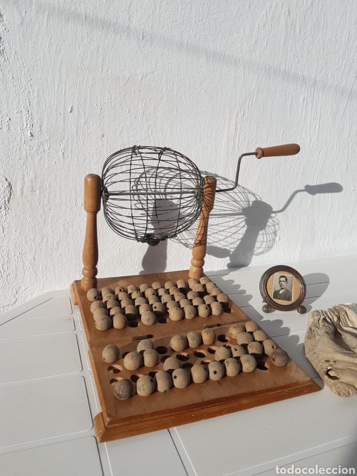 Juegos de mesa: Bingo muy antiguo años 40 aprox - Foto 2 - 211937870