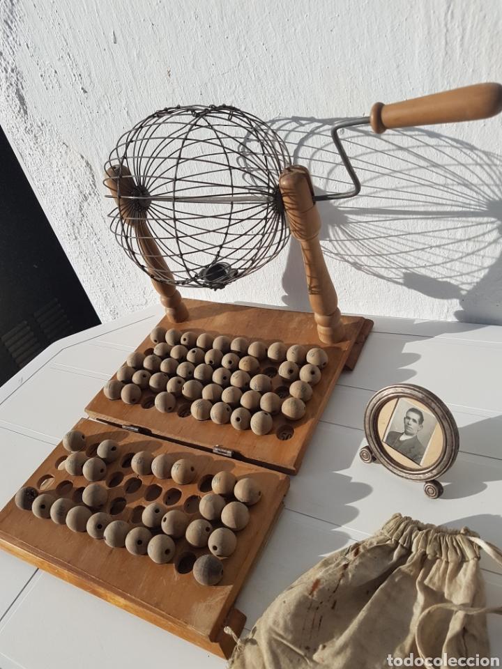 Juegos de mesa: Bingo muy antiguo años 40 aprox - Foto 3 - 211937870