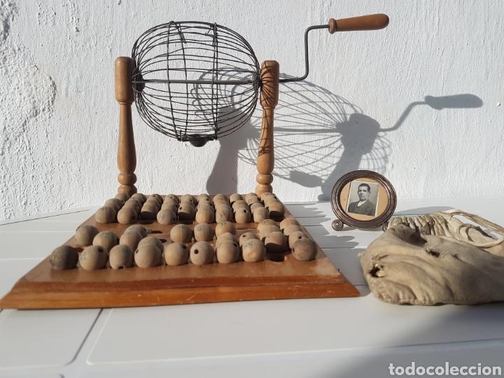 Juegos de mesa: Bingo muy antiguo años 40 aprox - Foto 5 - 211937870
