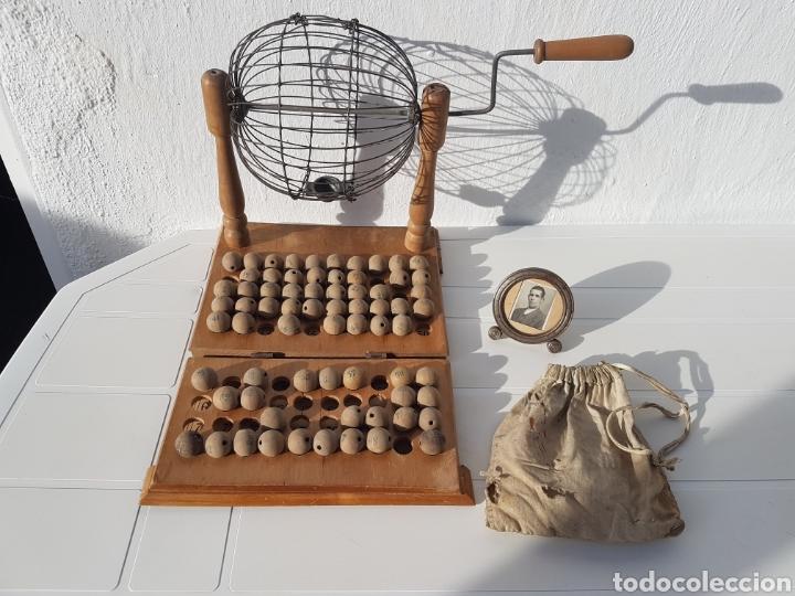 BINGO MUY ANTIGUO AÑOS 40 APROX (Juguetes - Juegos - Juegos de Mesa)