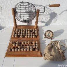 Juegos de mesa: BINGO MUY ANTIGUO AÑOS 40 APROX. Lote 211937870