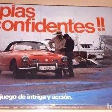 Jeux de table: ESPIAS Y CONFIDENTES, JUEGO DE ESTRATEGIA DE BORRÁS. A ESTRENAR. JUEGO DE MESA--HH. Lote 212321805