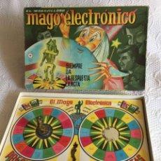 Juegos de mesa: JUEGO EL MARAVILLOSO MAGO ELECTRÓNICO (CEFA, 1960'S) COMPLETO ¡ORIGINAL!. Lote 212361510