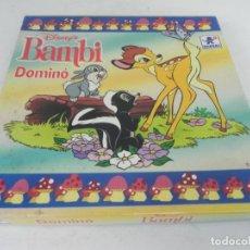 Juegos de mesa: DOMINÓ BAMBI (DISNEY) BORRAS. Lote 212436080