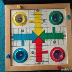 Juegos de mesa: TABLERO PARCHIS AUTOMÁTICO. COMPLETO CON FICHAS. Lote 213182027