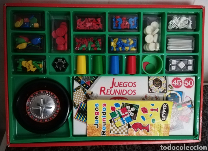 Juegos de mesa: JUEGOS REUNIDOS 45 - Foto 2 - 213271238