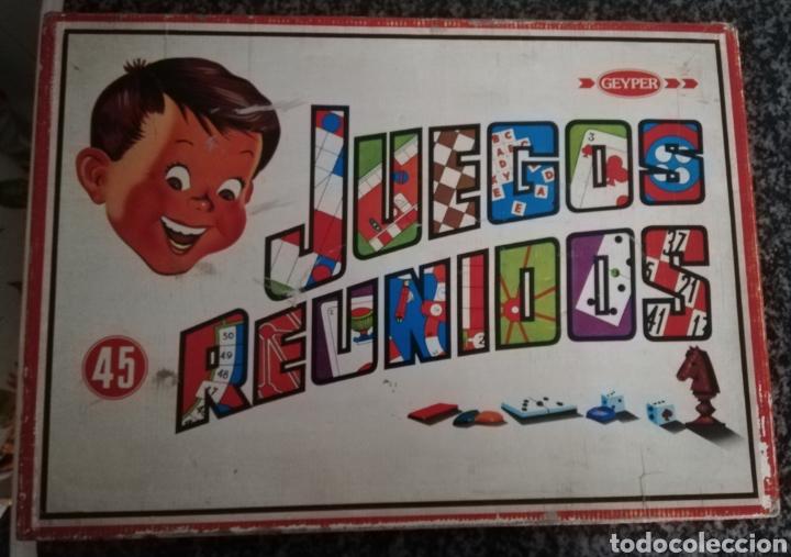 JUEGOS REUNIDOS 45 (Juguetes - Juegos - Juegos de Mesa)