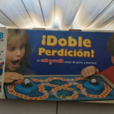 Juegos de mesa: DOBLE PERDICION CUB O MATIC CUBO MB JUEGO MESA KREATEN 1989. Lote 213575912