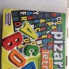 Juegos de mesa: PIZARRA NOVACLIC LETRAS PARA CONCURSOS TIPO TV DINOVA EDUCATIVOS MESA KREATEN JUEGO. Lote 213578420
