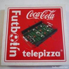 Juegos de mesa: FUTBOLÍN - TELEPIZZA / COCA-COLA. Lote 213583957