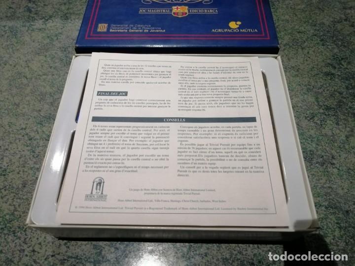Juegos de mesa: Sport Trivial pursuit. Joc magistral. Edició Barça. Completo. - Foto 4 - 213765532