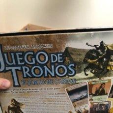 Juegos de mesa: JUEGO DE TRONOS - EL JUEGO DE CARTAS PRIMERA EDICIÓN - EN PERFECTO ESTADO. Lote 214113065