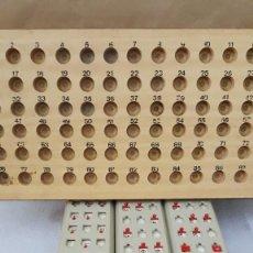 Juegos de mesa: BINGO ANTIGUO. Lote 214601336