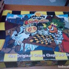 Juegos de mesa: CHESS COLLECTION. AJEDREZ. CHUPA CHUPS. FALTA 2 PIEZAS. VER FOTOS.. Lote 214608531