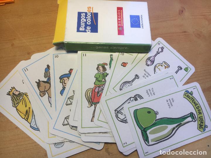 JUEGO DE CARTAS:BURGOS DE COLORES- NUEVO- (Juguetes - Juegos - Juegos de Mesa)
