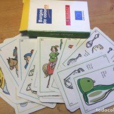 Juegos de mesa: JUEGO DE CARTAS:BURGOS DE COLORES- NUEVO-. Lote 214840451