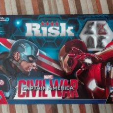 Juegos de mesa: RISK -CIVIL WAR -CAPITAN AMÉRICA-VERSION EN INGLES. Lote 214864867