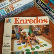 Juegos de mesa: ENREDOS TWISTER PRIMERA 1 EDICIÓN MB. Lote 215086456