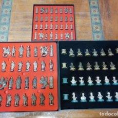 Juegos de mesa: CONJUNTO DE TRES AJEDRECES DE MOROS Y CRISTIANOS.. Lote 232349845